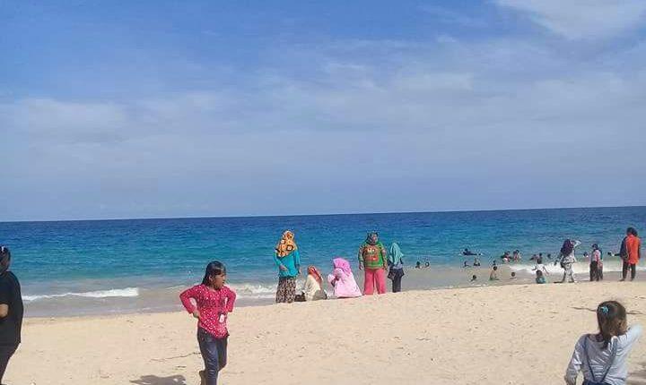 Destinasi Wisata Alam Pasir Putih Panjang Di Desa Abason Bangkep Infodesa Id Portal Berita Desa